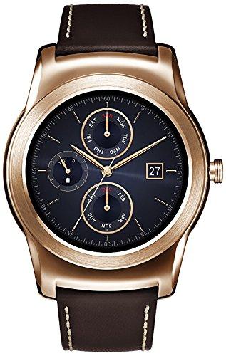 "LG W150 1.3"" P-OLED Oro Reloj Inteligente - Relojes Inteligentes (3,3 cm (1.3""), P-OLED, Pantalla táctil, 36 h, 64 g, Oro)"