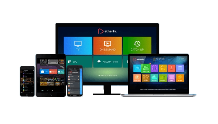 dispositivos con IPTV