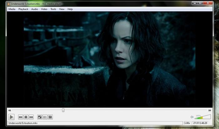 VLC Captura pantalla