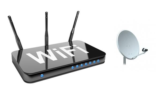 WiFi Parabólica
