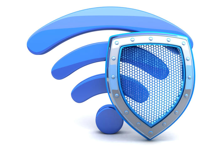 WiFi con escudo