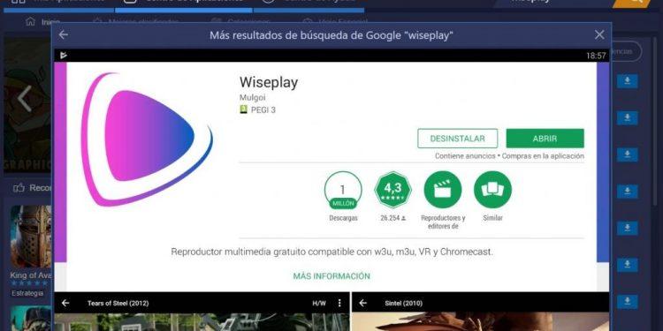 Wiseplay para PC con Windows 10