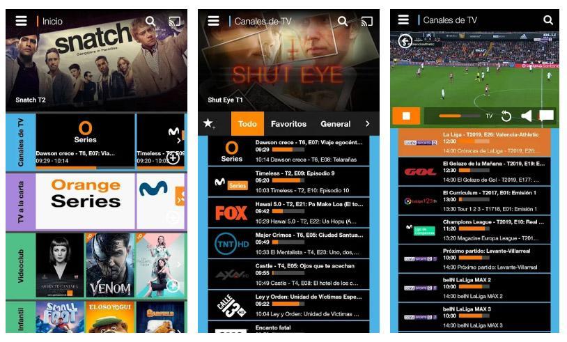Aplicaciones para ver el fútbol en directo
