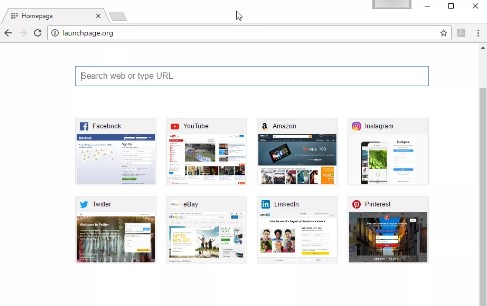 Launchpage en chrome