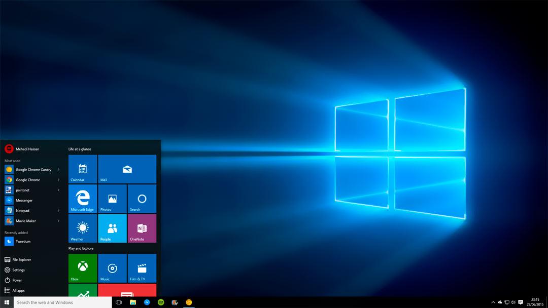 Cómo instalar Windows 10 desde un USB