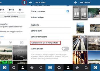Cómo ver las publicaciones en Instagram que me han gustado