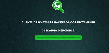 Hackear una cuenta de WhatsApp con Hackingtor
