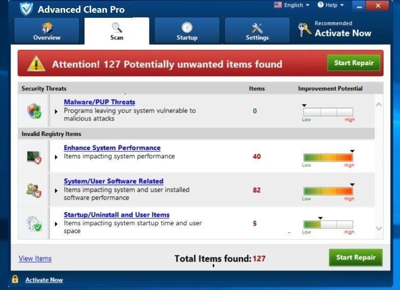 ¿Qué es Advanced Clean Pro?