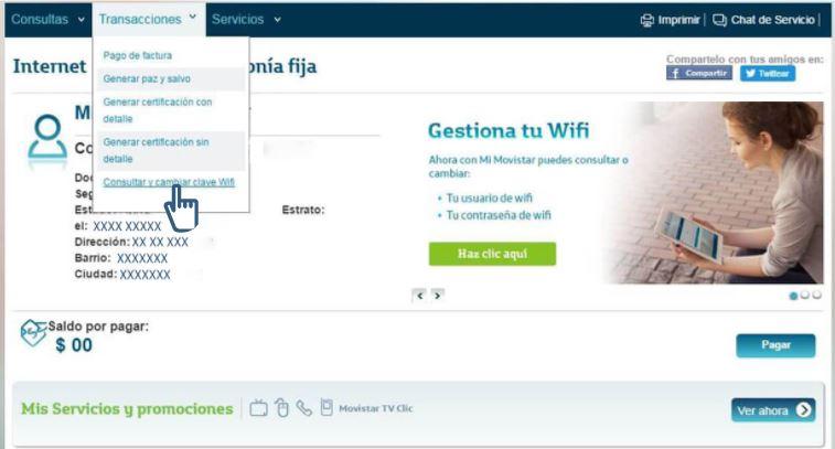 cambiar la contraseña Wifi en el Router para estar protegido