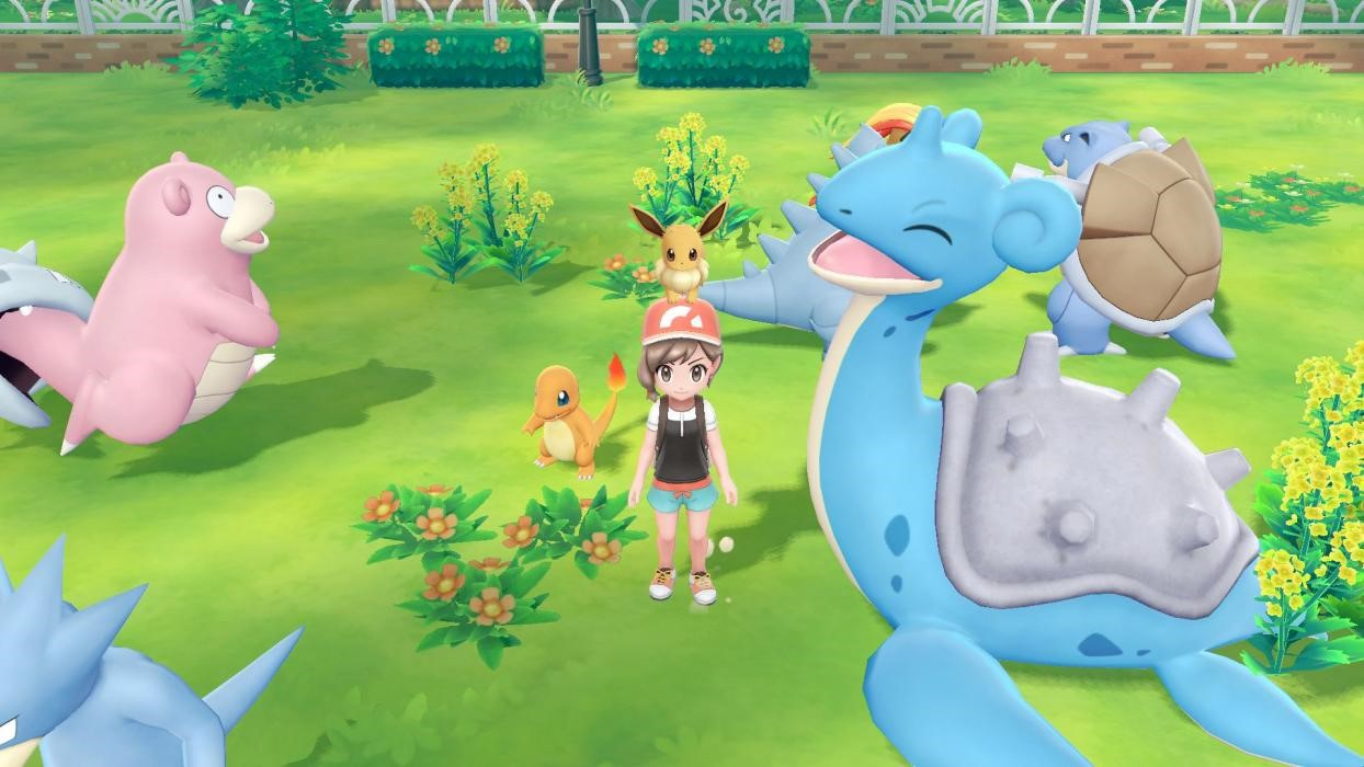 Pokémon Let's Go, Pikachu! y Let's Go, Eevee!