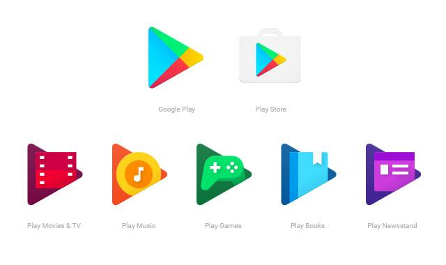 Tarjetas Google Play