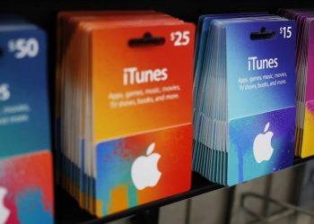 Tarjetas de regalo iTunes