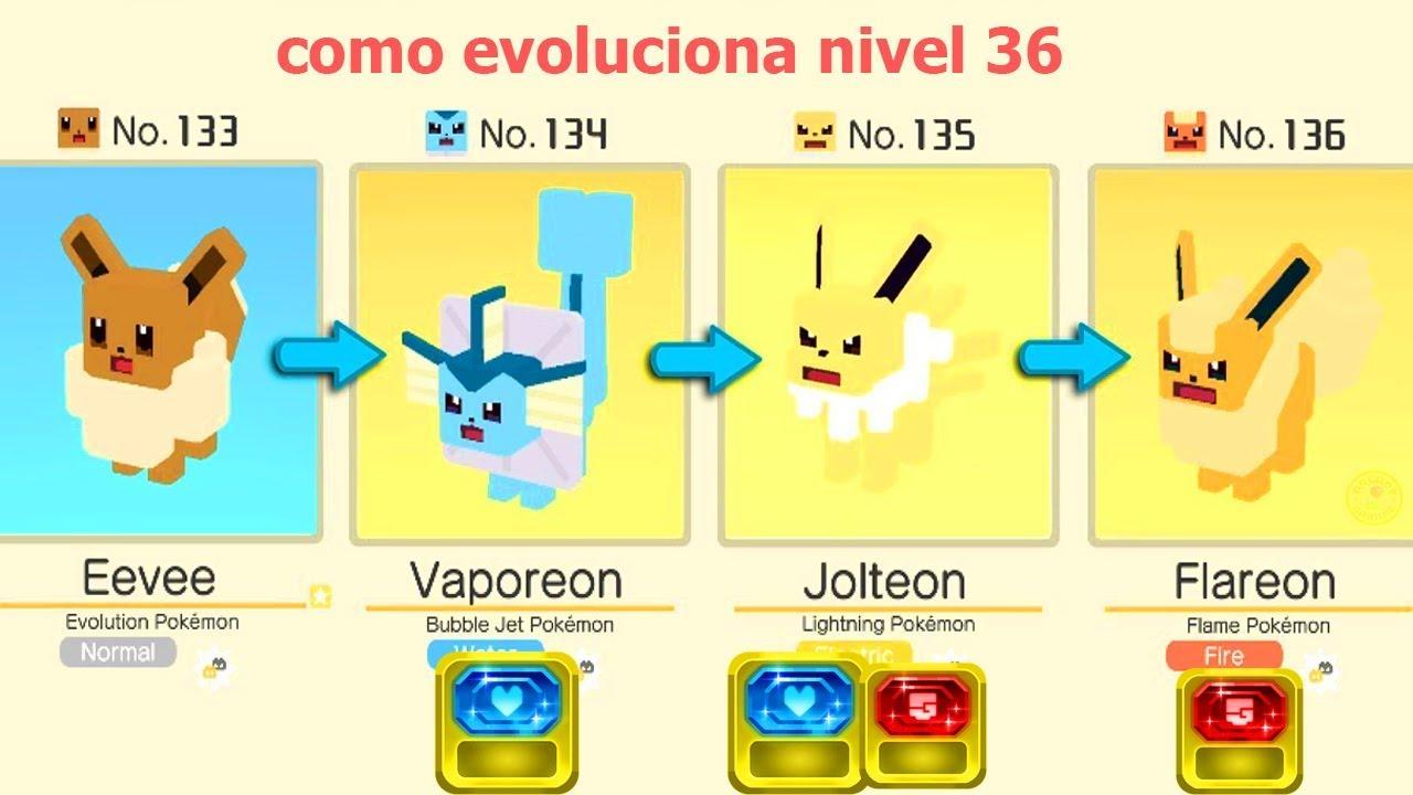 Pokémon Quest: Cómo evolucionar a Eevee