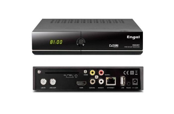 Receptor decodificador IPTV satélite