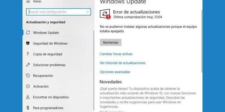 Cómo arreglar el error 0x8024001e de Windows Update