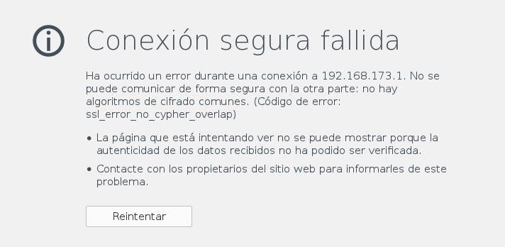 Cómo arreglar el error de SSL