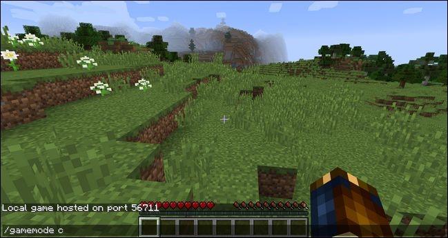 Cómo cambiar a modo creativo Minecraft