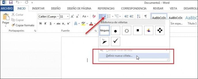 Cómo insertar casilla de verificación en Word