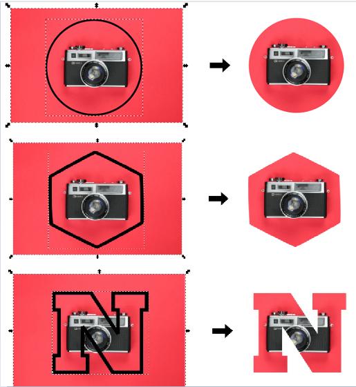 Cómo recortar una imagen en Inkscape
