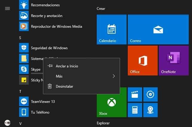 Cómo desinstalar Skype de Windows 10