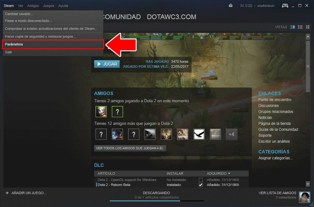 Cómo hacer que Steam no se inicie automáticamente
