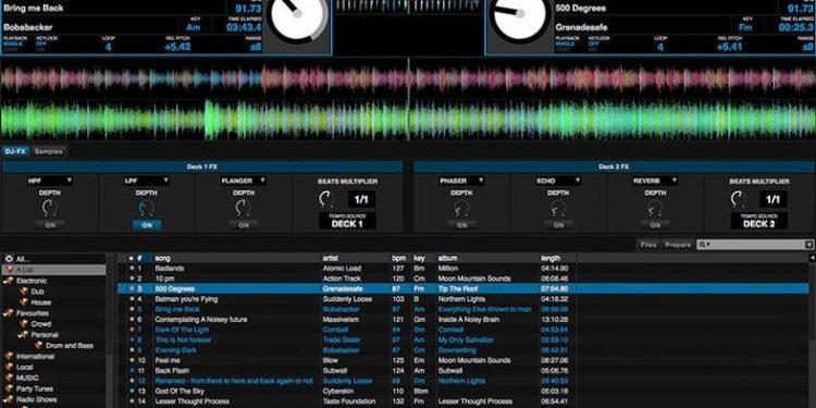Programa para mezclar música automáticamente