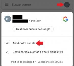 gestion de cuentas de gmail