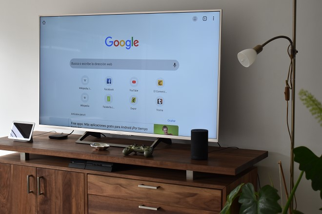 Cómo descargar Google Chrome en una Smart TV