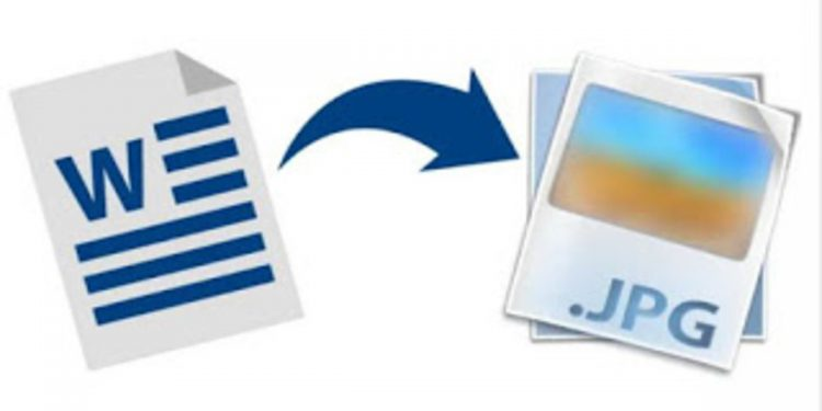 Como convertir un archivo Word a JPG