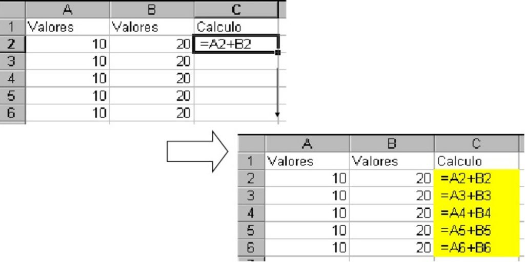 Como fijar referencias en Excel