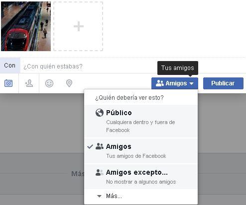 Como hacer fotos privadas Facebook