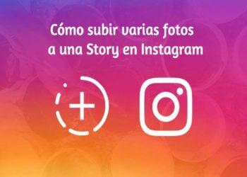 Cómo poner varias fotos en una misma historia de Instagram