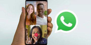 Hacer videollamadas múltiple en un grupo de WhatsApp