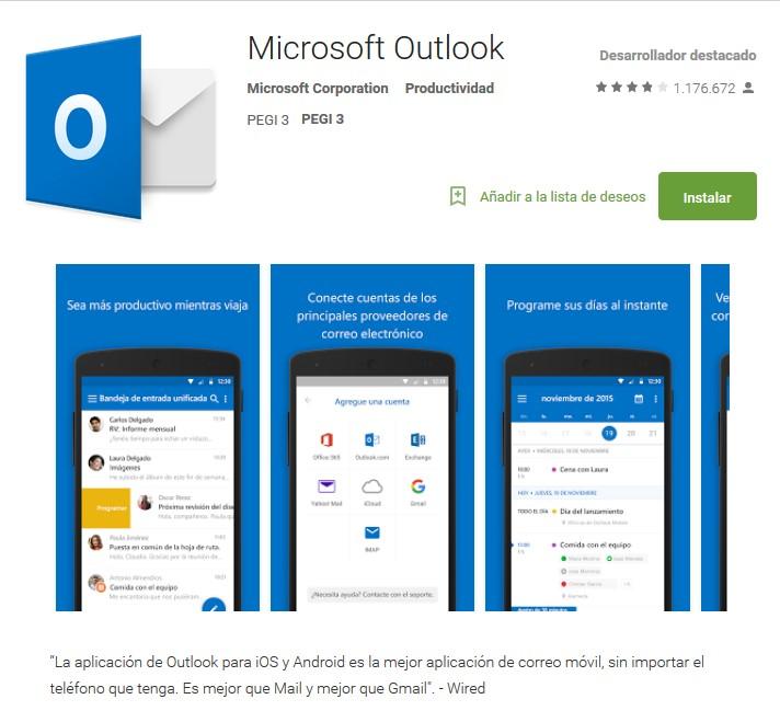 Como iniciar sesión en Outlook