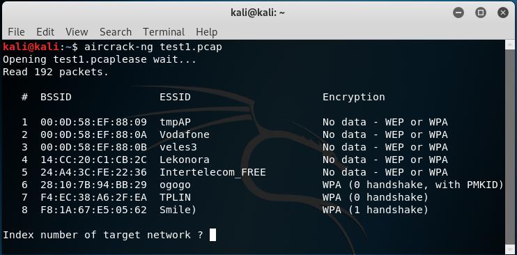 Kali Linux Aircrack-NG