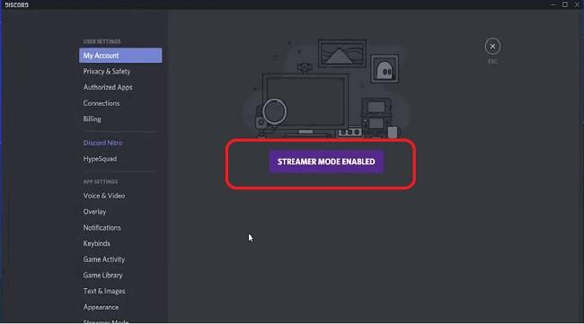 Modo Streamer en Discord