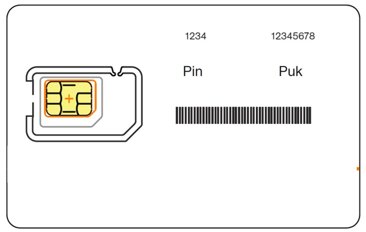 Cómo saber el PUK de una tarjeta SIM