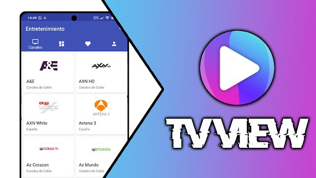 TV View APK para celular Android, Smart TV y PC