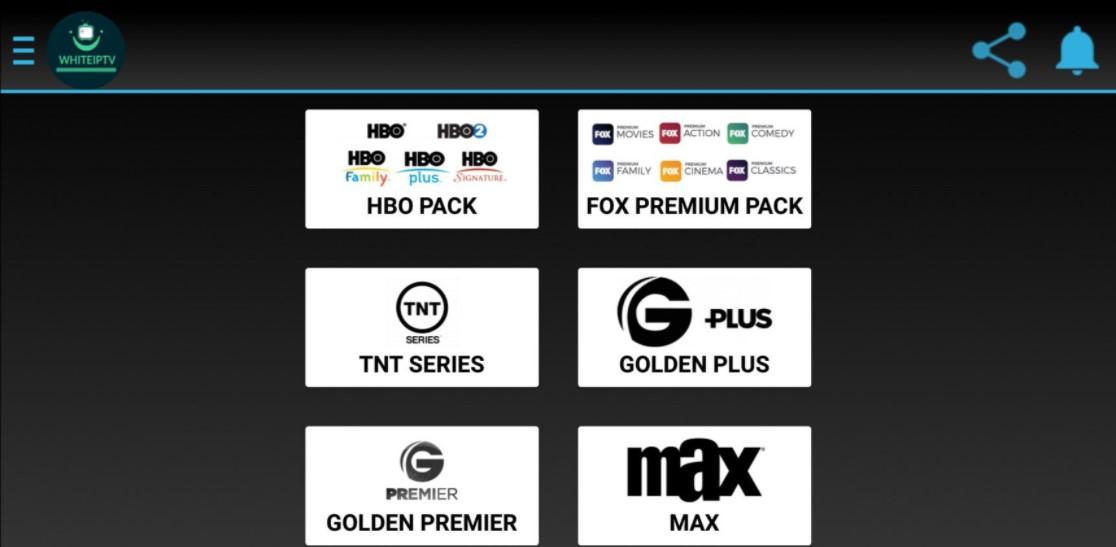 WhiteIPTV (MapacheTV) 9.7 para Android y Smart TV