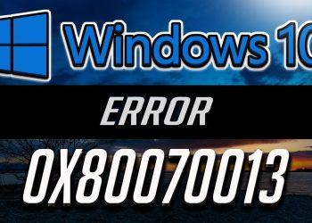 Cómo arreglar el error 80070103