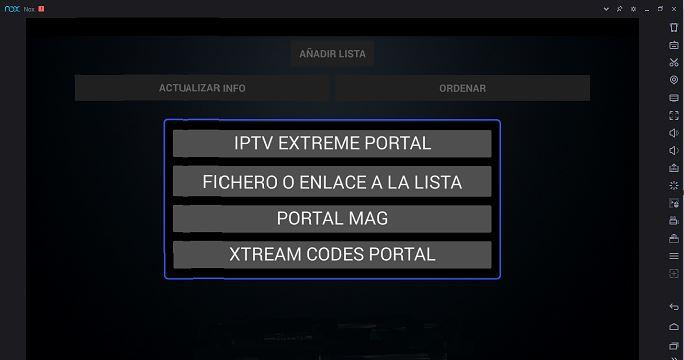 Cómo usar IPTV Extreme