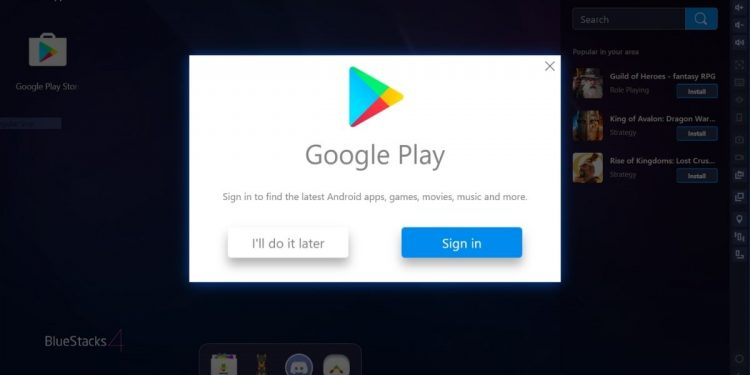 Descargar Google Play para PC
