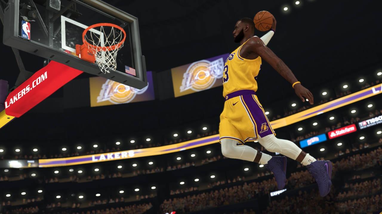 Alley Oop en NBA 2k21