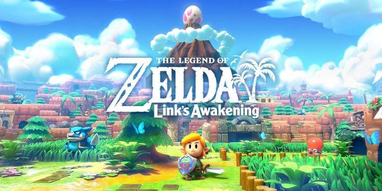 Hojas Doradas en Zelda Links Awakening