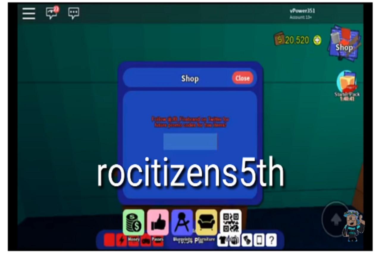 Códigos RoCitizens – Roblox