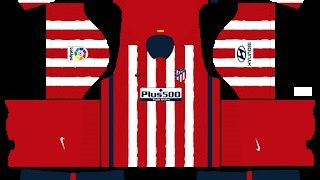 Kits Atlético Madrid Dream League Soccer