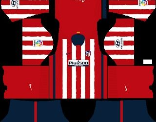 Kits Atlético Madrid Dream League Soccer