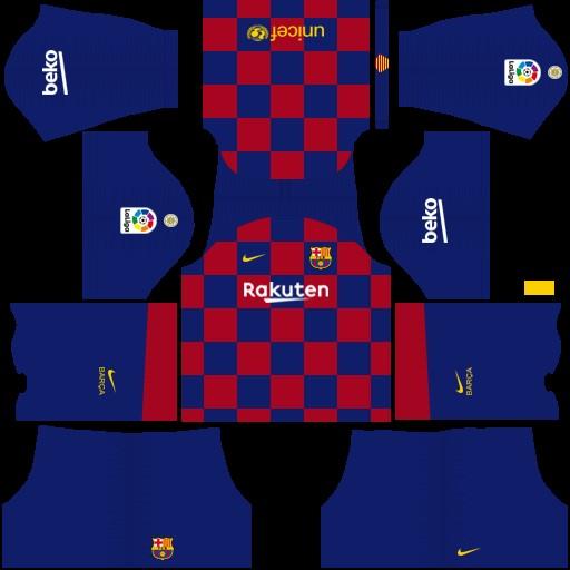 Kits Barcelona Dream League Soccer – DLS