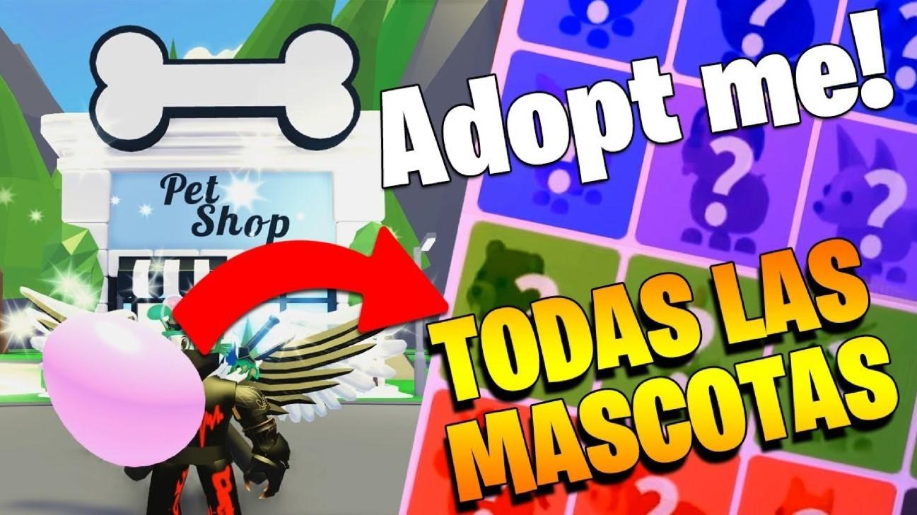 Mascotas en Adopt Me!