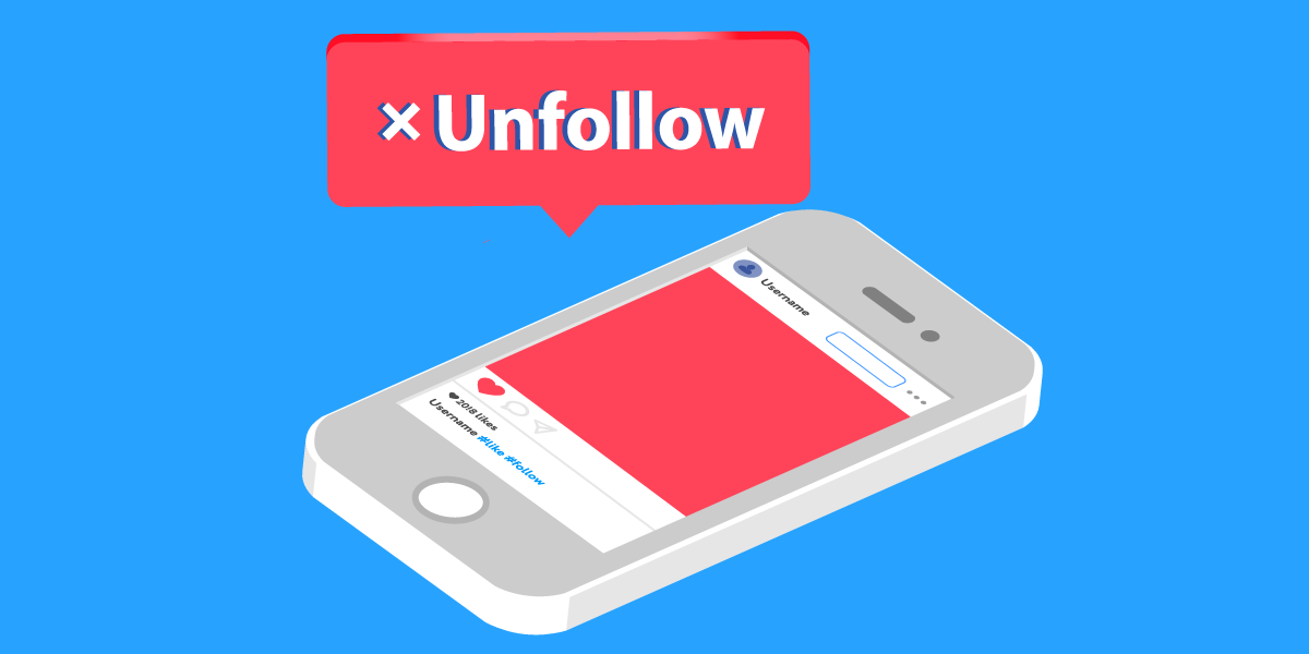 Cómo dejar de seguir a todos en Instagram